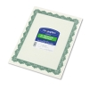 Image for Geographics Green Border Parchment Certificates 25 Pack