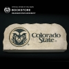 "Image for 17"" Ram Head Colorado State Wordmark Logo Garden Stone"