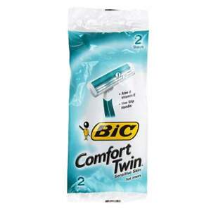 Image For Bic Comfort Twin Razor For Men