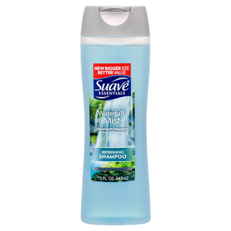 Cover Image For Suave Waterfall Mist Shampoo