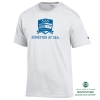 Cover Image for Grey Men's Athletic Short Sleeve Semester at Sea T-Shirt