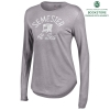 Cover Image for Oxford Grey Long Sleeve Mia V-Neck Tee