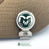 Image for CSU Ram Head Ball Marker Hat-Clip