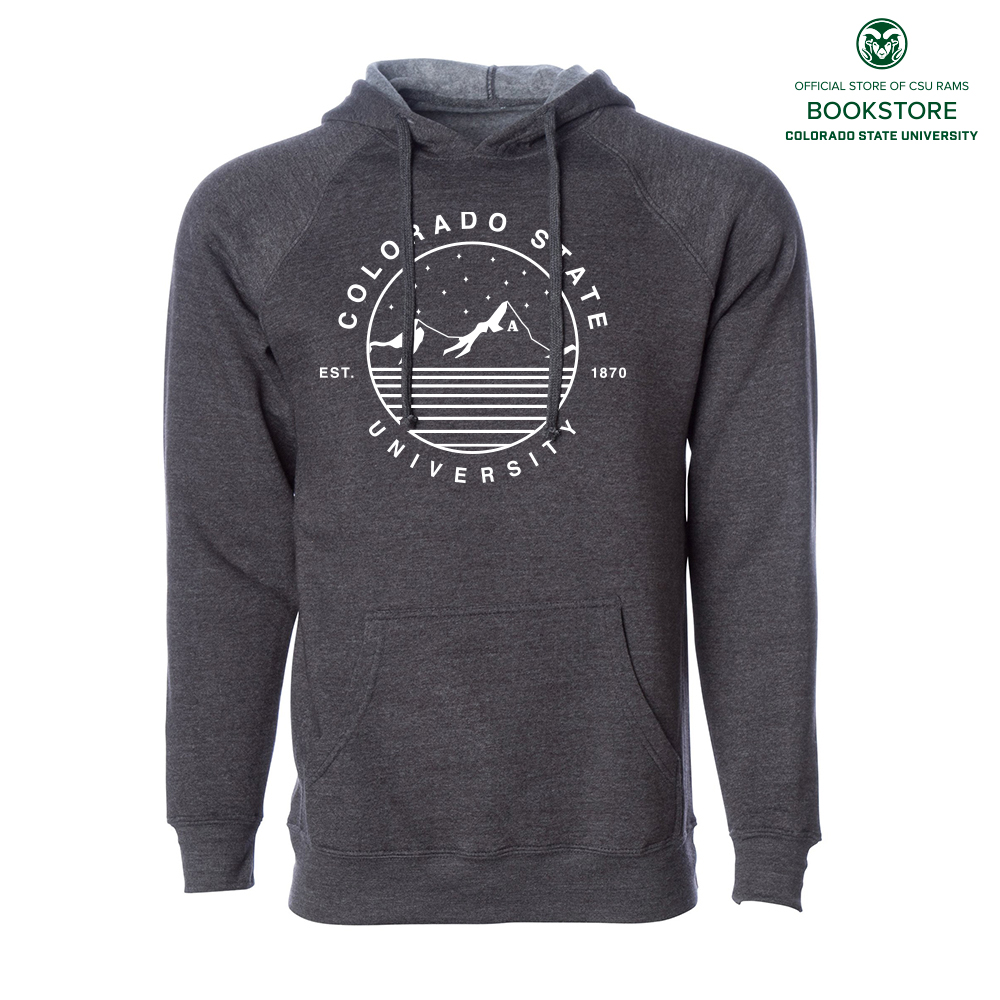 Image For UScape Apparel CSU Starry Landscape Deluxe Hoodie