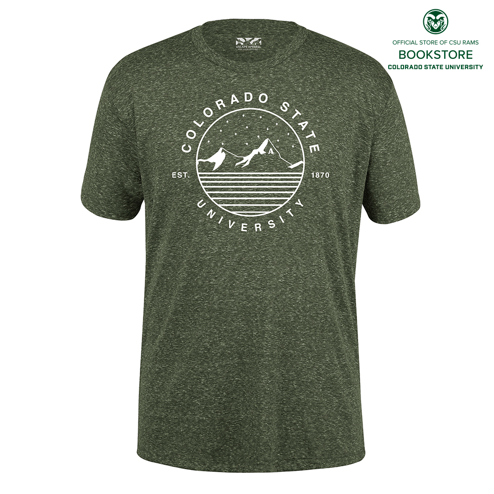 Image For UScape Apparel CSU Starry Landscape Short Sleeve T-Shirt