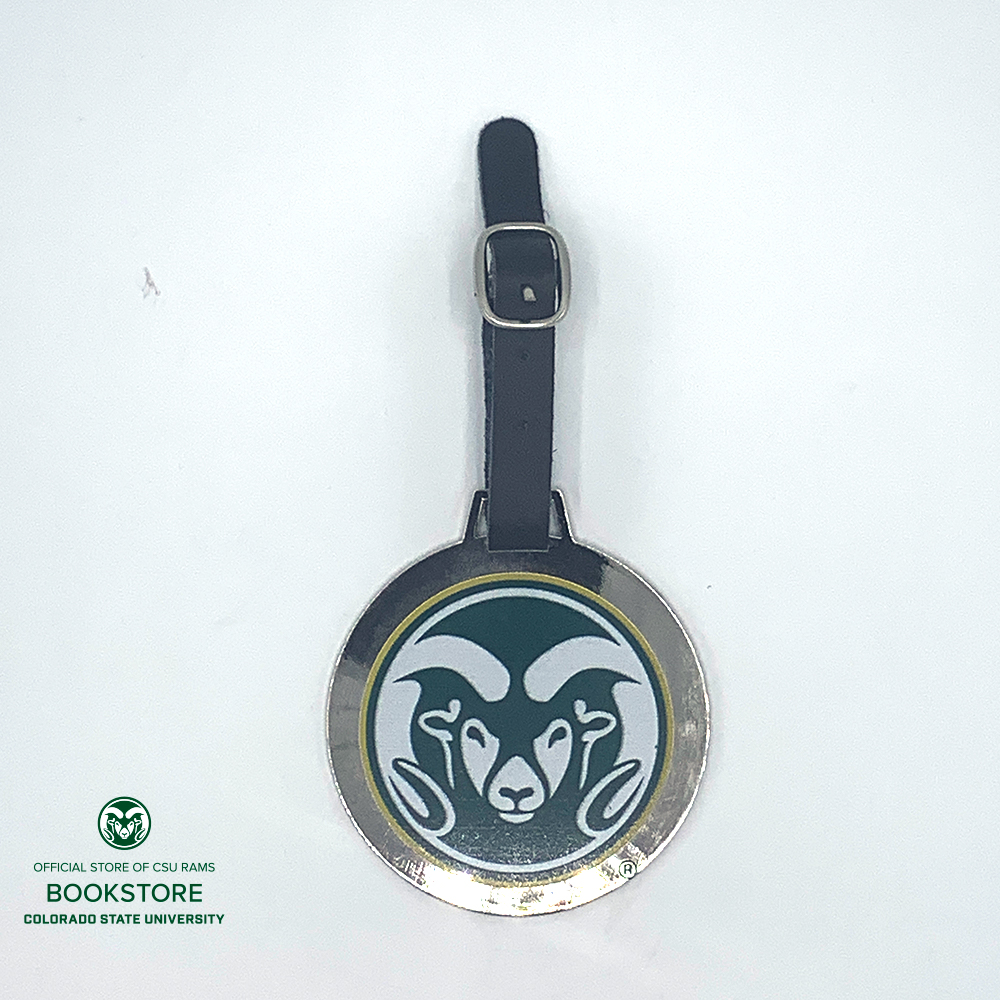 Image For CSU Ram Head Golf Bag Tag