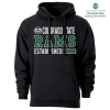 Image for CSU Rams Black Hooded Sweatshirt by Ouray