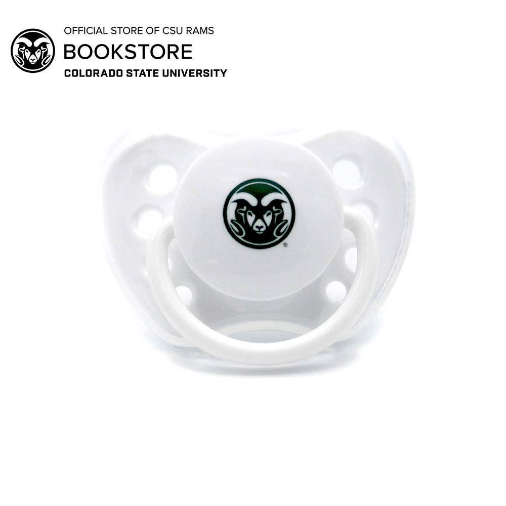 Image For CSU Rams Logo Baby Pacifier