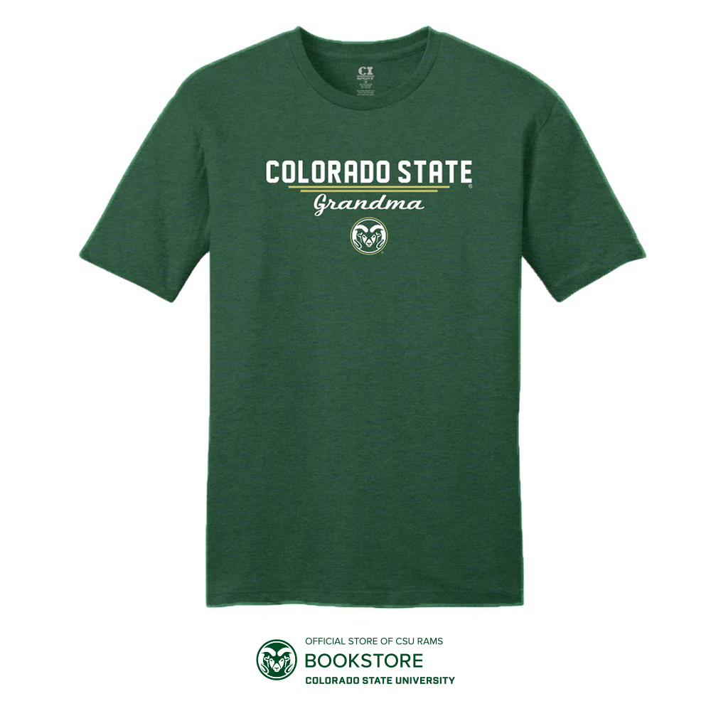 Image For Green Colorado State University Grandma T-Shirt