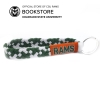 Image for Stretchy Rams Wristlette Key Tag