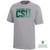Image for Heather Short Sleeve CSU Youth Tee