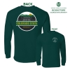 Image for UScape Apparel CSU Scenic Circle Green Long Sleeve T-Shirt