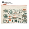 Image for Colorado State Canvas Landmark Pencil Pouch by Julia Gash