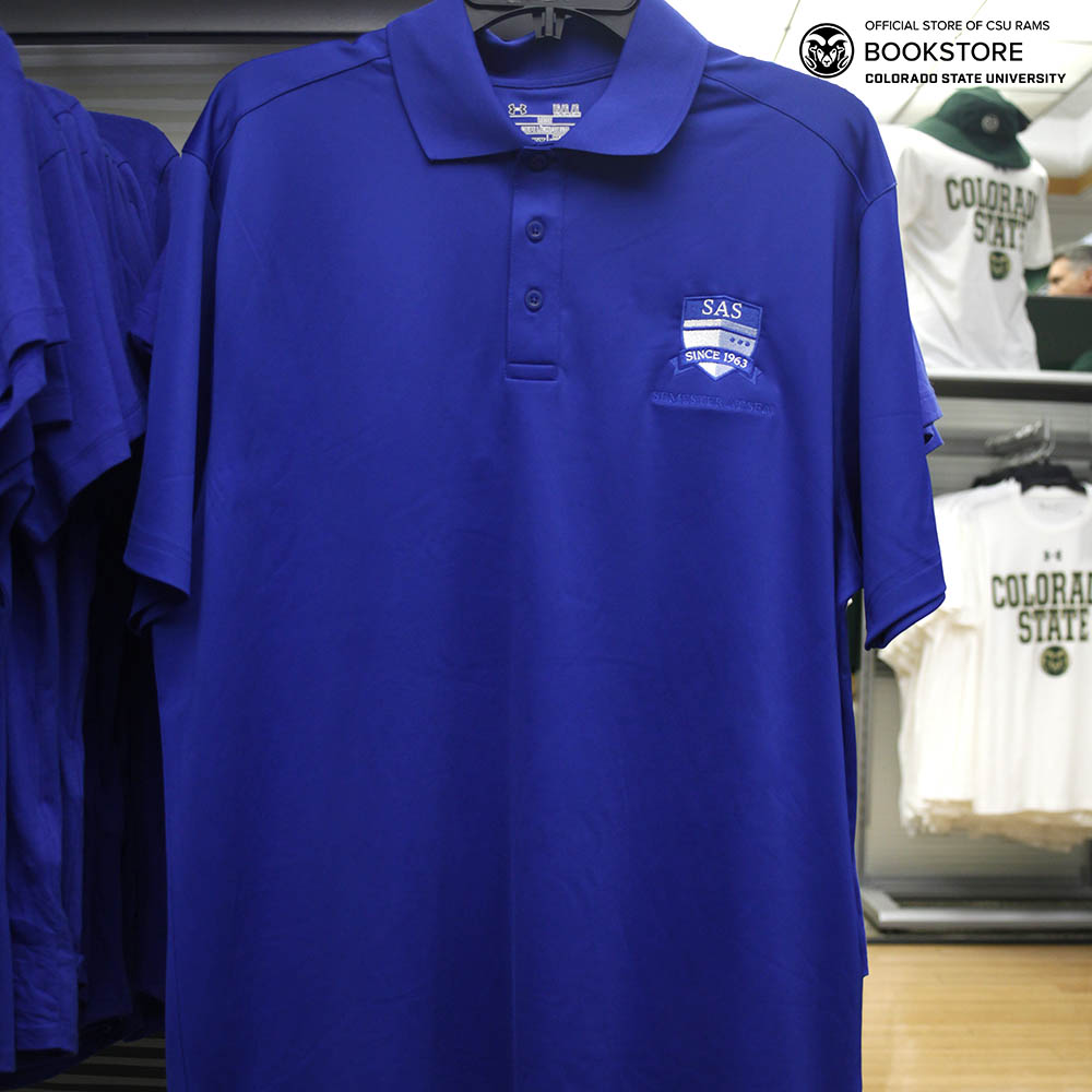 Image For Royal Blue SAS Performance Polo
