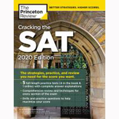 Image For Cracking the SAT by Princeton
