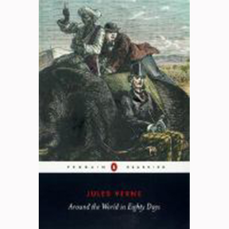 Image For Around the World in Eight Days by Jules Verne