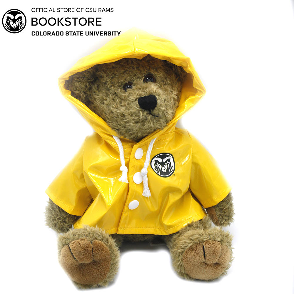 Image For Plush Bear With Rams Raincoat