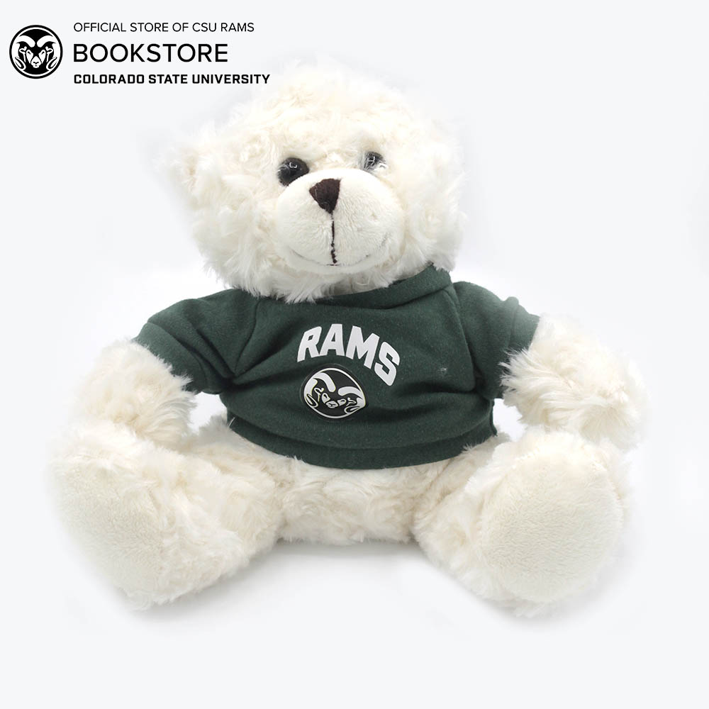 Image For Cream Plush Bear With Rams T-shirt