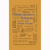 Image for Shakespeare's Sonnets and Other Poetry