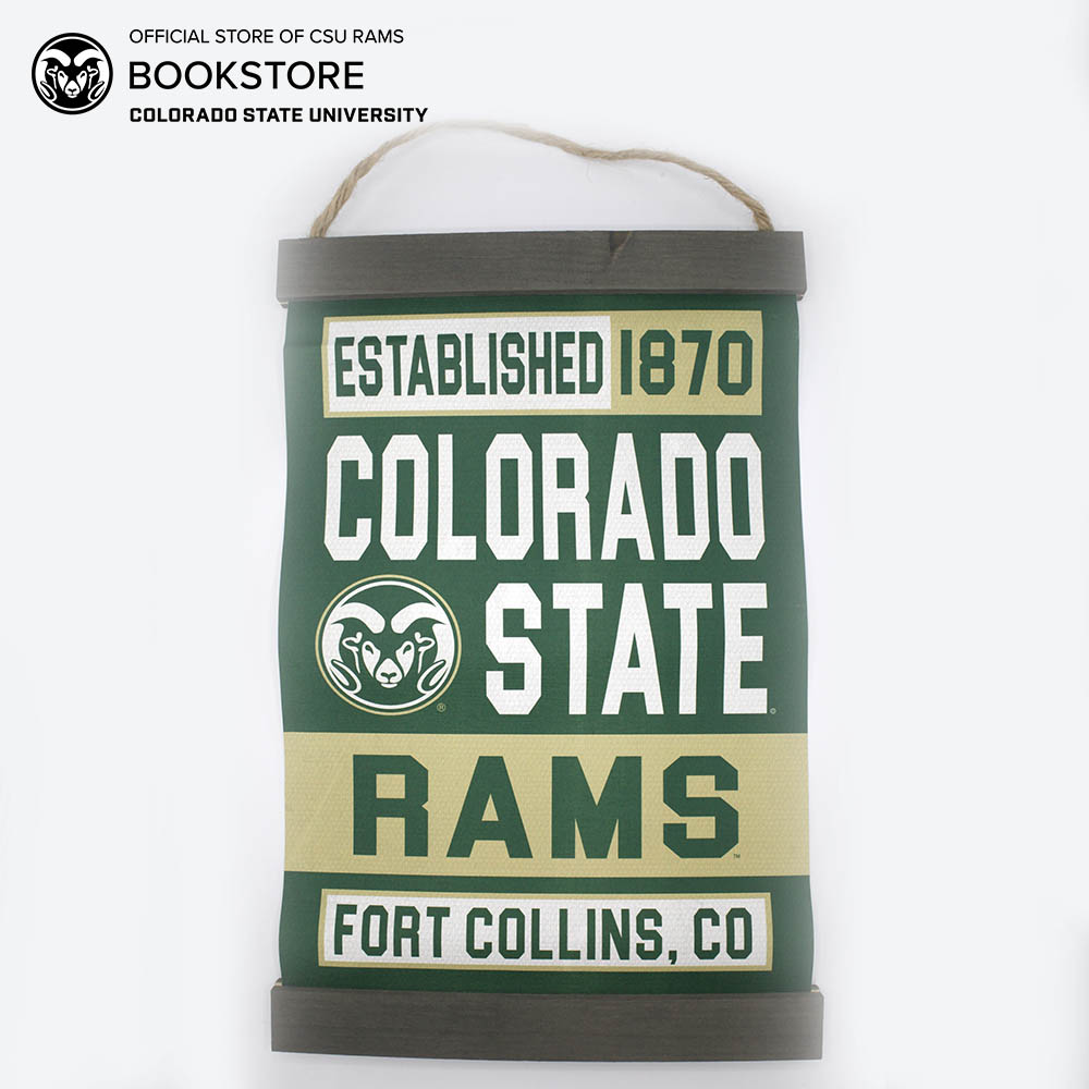 Cover Image For Colorado State Legacy Canvas Banner