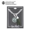 Image for CSU Green Tassel Charm Bracelet