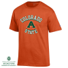 "Image for Colorado State  Aggie ""A"" Orange Basic Tee"