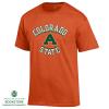 "Image for Colorado State  Aggie ""A"" Orange Basic Tee"
