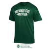 Image for Dark Green Basic Colorado State Tee by Champion