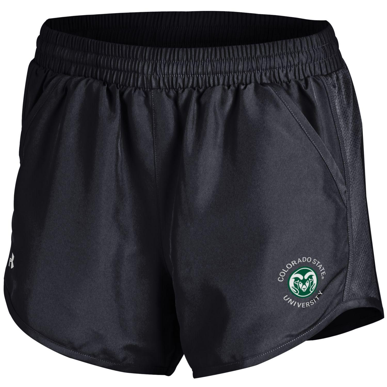 cd77886417 Black Colorado State University Shorts by Under Armour