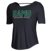 Image for Black Colorado State Rams Tee by Under Armour