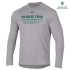 Image for CSU Summer 2019 Grey Tech Long Sleeve tee by Under Armour