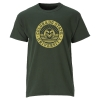 Image for Green CSU Stars and Bars T-Shirt by Ouray