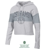 Image for Silver/Grey Heather CSU Rams Crop Hoodie by Champion
