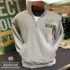 Image for Grey CSU Rams Quarter Zip Sweatshirt by Champion