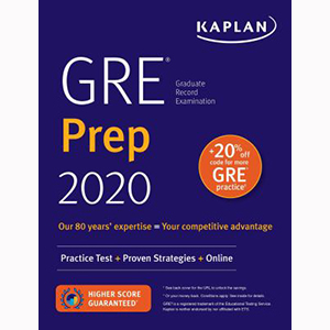 Cover Image For Kaplan GRE 2020