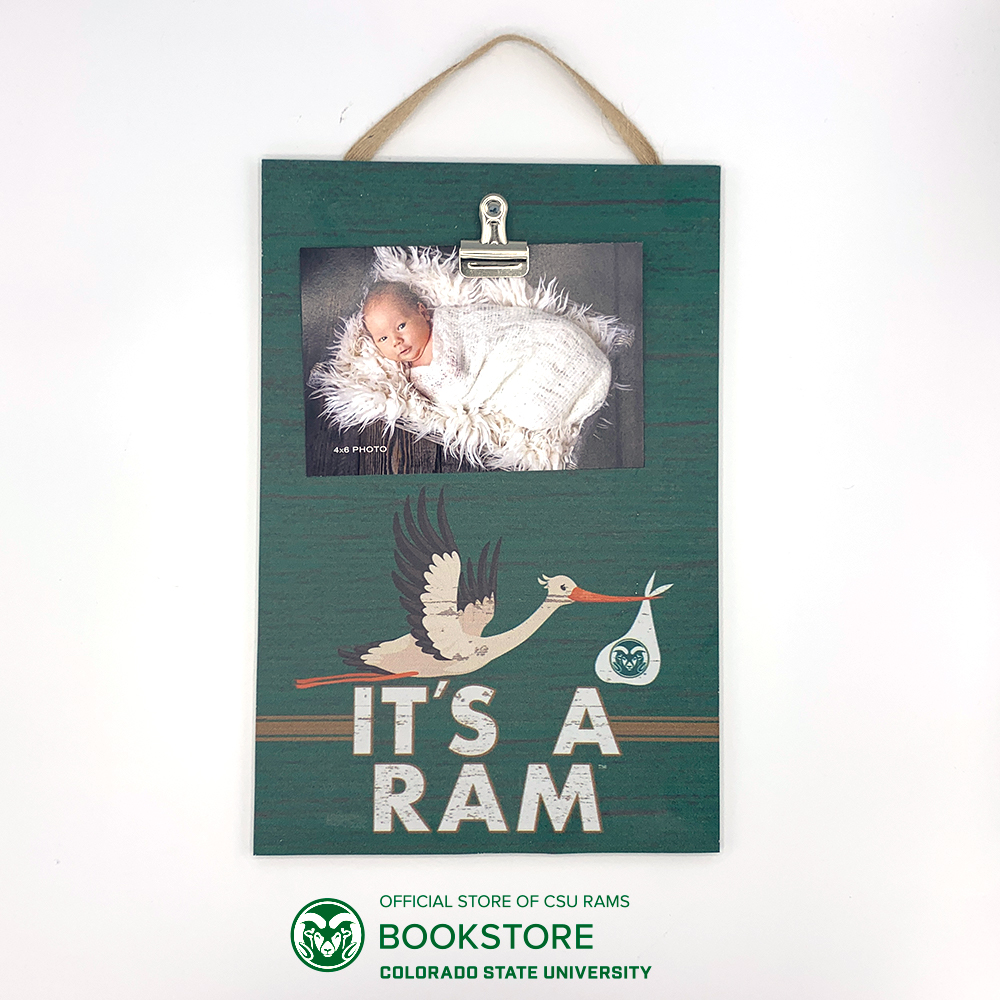 "Cover Image For ""It's a Ram"" Hanging Clip it Photo Board"
