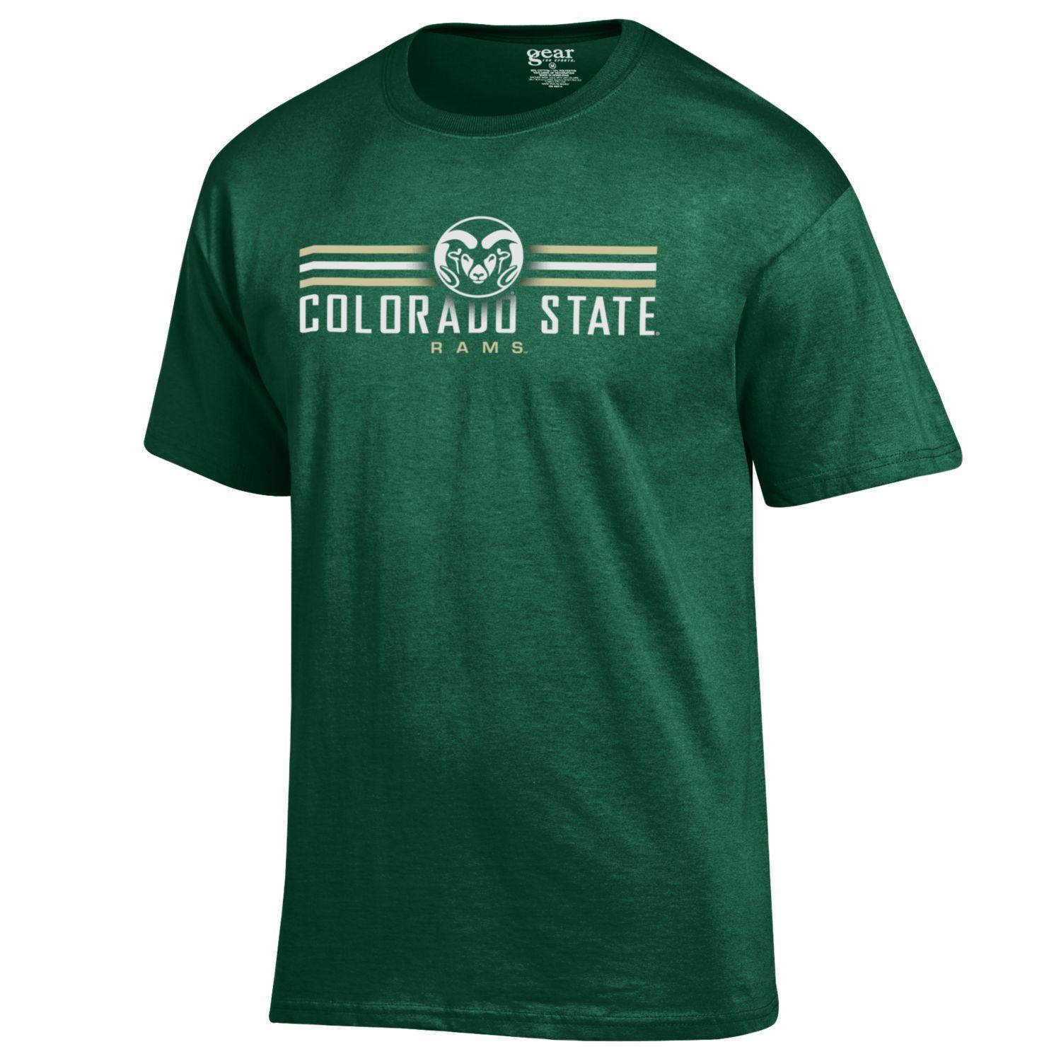 Image For Field Green Colorado State Rams Tee by Gear