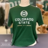 Cover Image for Champion® Large Ramhead Colorado State White Tee