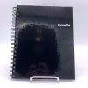 Image for Midnight Black One Subject Notebook by Hamelin