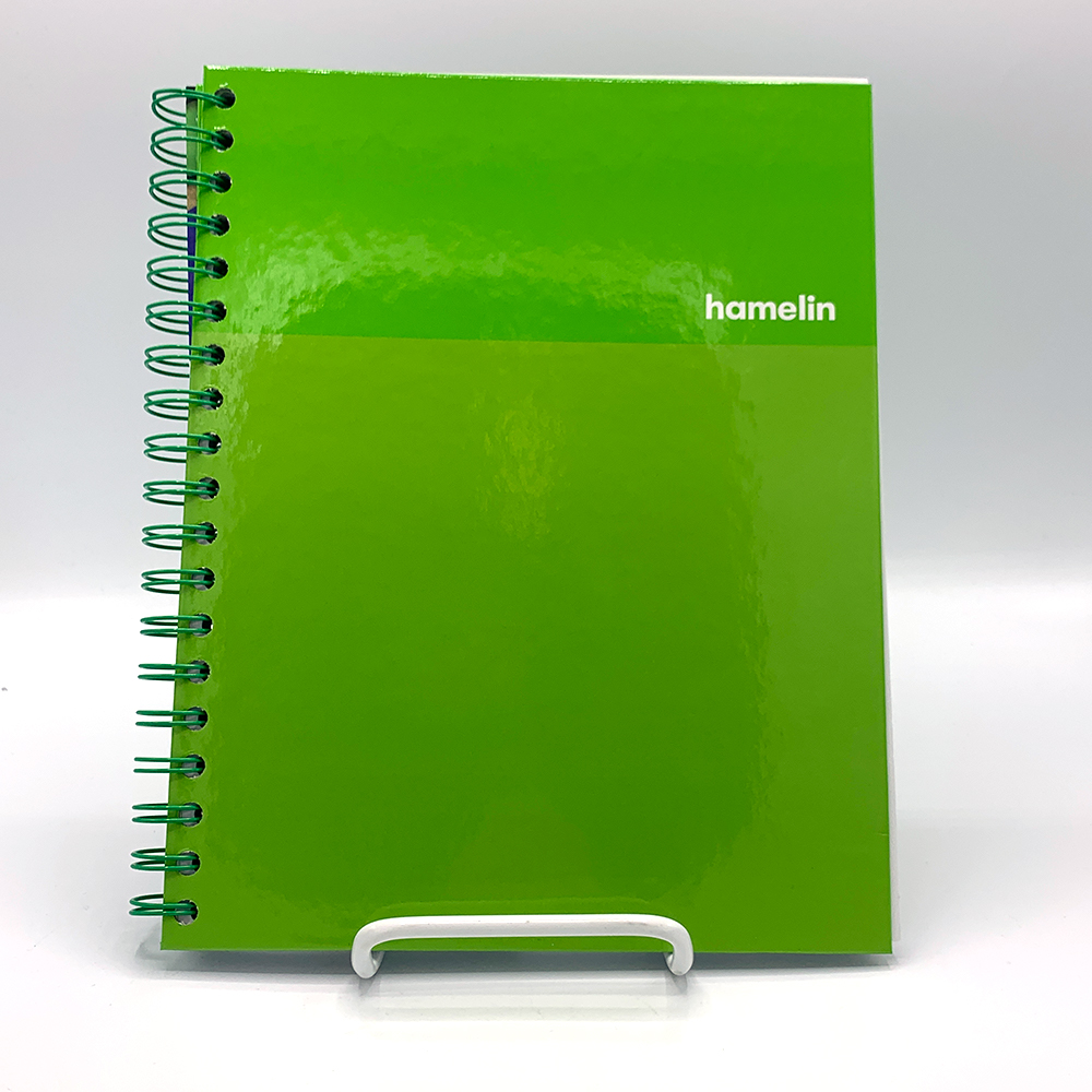 Image For Emerald Green One Subject Notebook by Hamelin