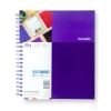 Image for Ultra Violet One Subject Notebook by Hamelin