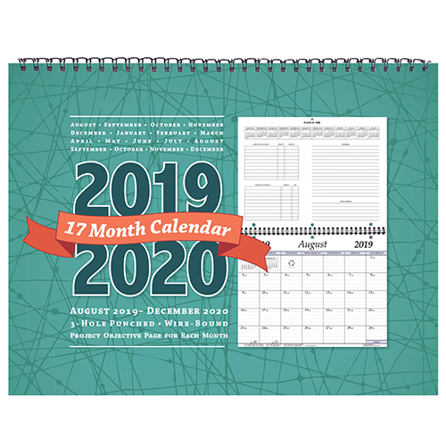 Csu Calendar Fall 2020 2019 2020 17 Month Wall Calendar | CSU Bookstore
