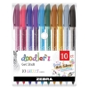 Cover Image for Bazic 10 Color G-Flex Oil-Gel Ink Pen with Cushion Grip