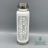 Image for White H2Go Journey Colorado State Thermal Water Bottle