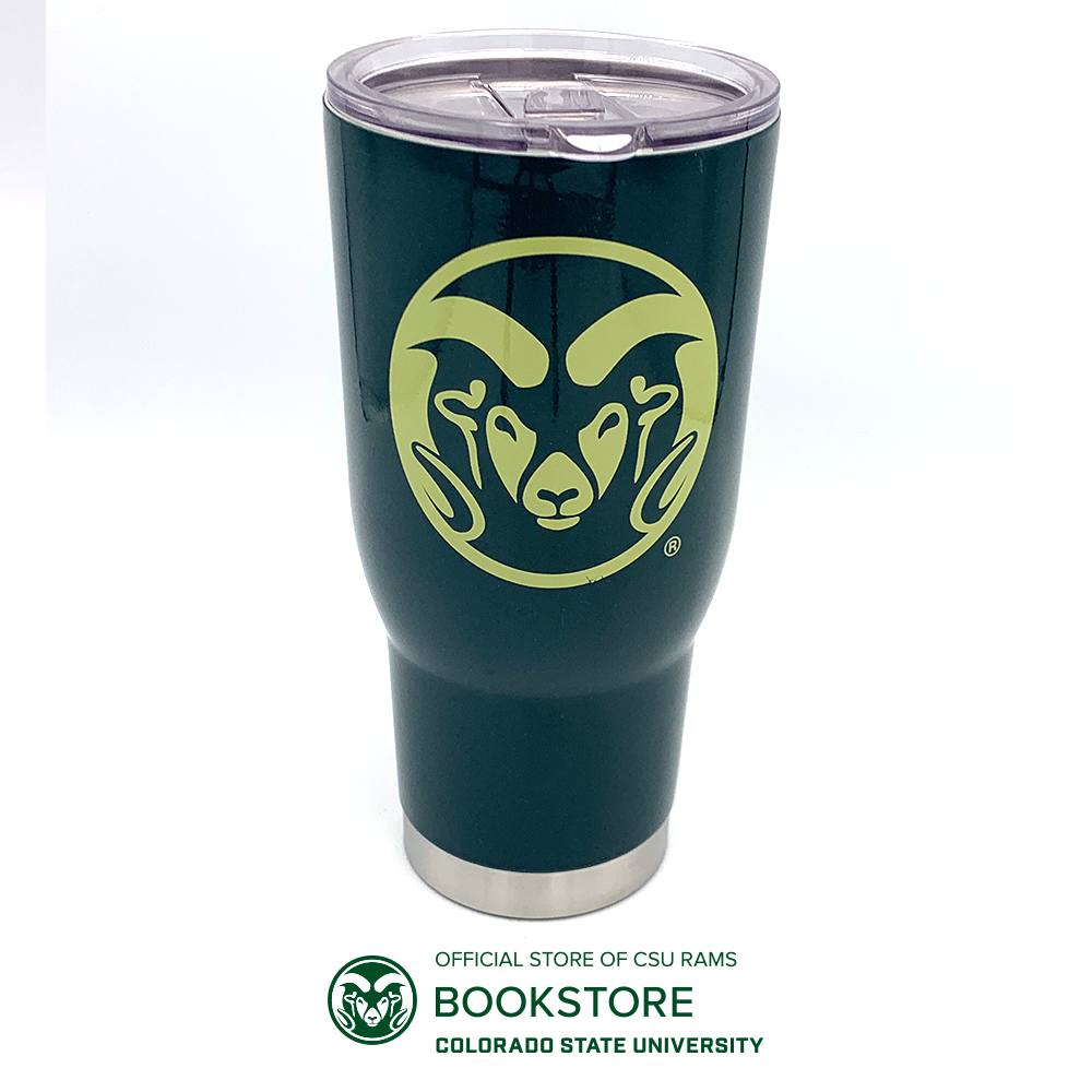 Image For 32oz Green Pro 32 Ram Head Tumbler