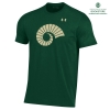 Image for CSU Ram Horn Green Performance Tee by Under Armour