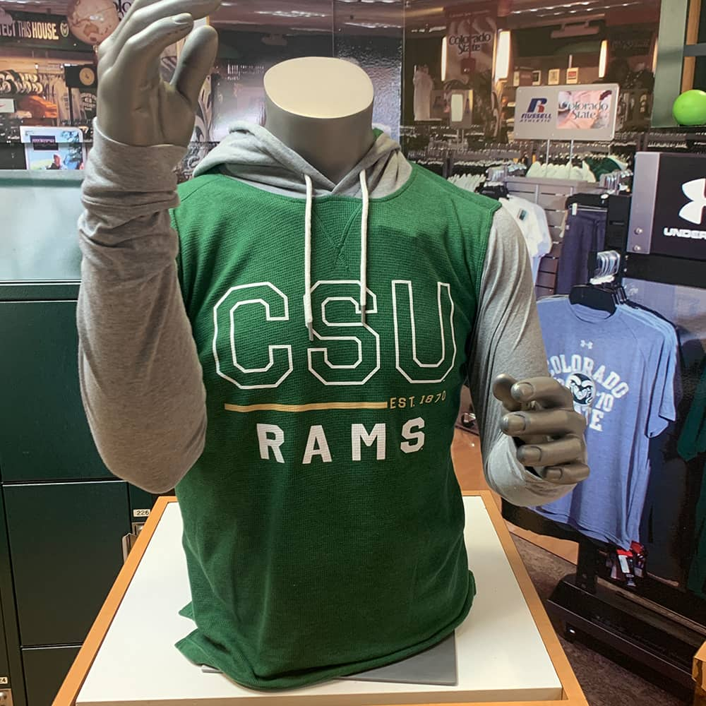 Image For CSU Rams Waffle Hoodie  by Under Armour