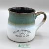 Image for Blue/White 16 oz Reno Mug