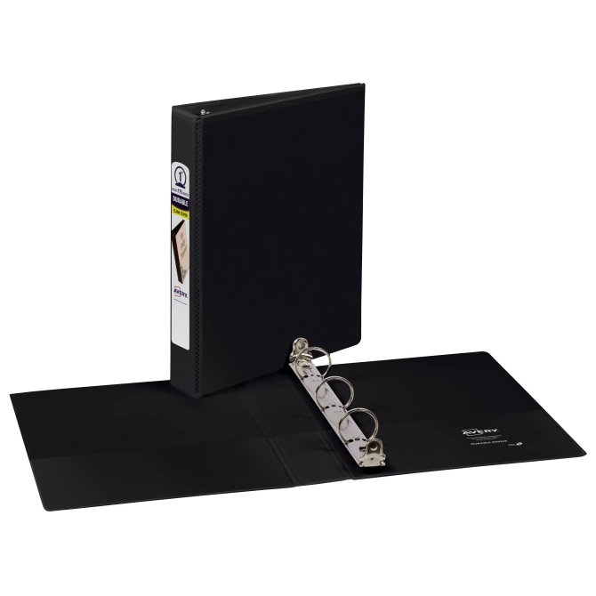 "Image For Avery Black 1"" Mini View Binder"