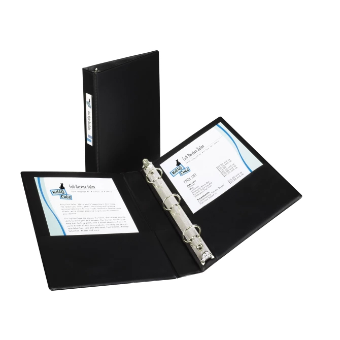 Cover Image For Avery Black Mini Binder